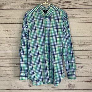 Vineyard Vines slim fit Murray shirt plaid size XL
